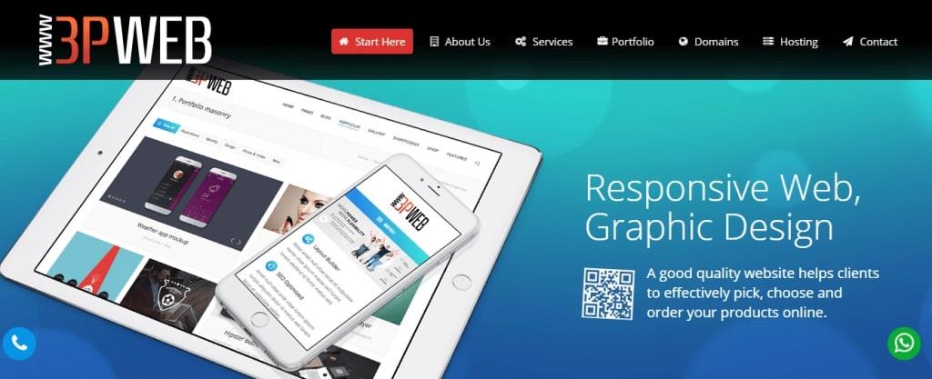 3P WEB Designing Company