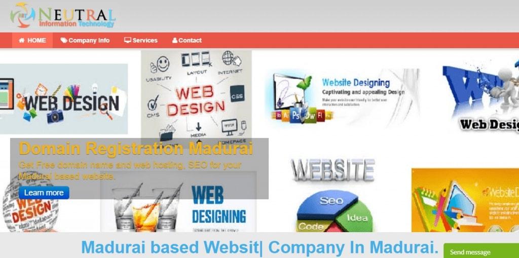 Neutral Information Technology Web Designing